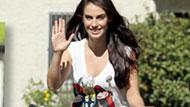 WOWtv - Jessica Lowndes Bikes Through The Park On Day Off