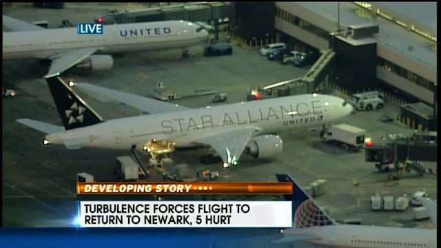 Five Injured as Heavy Turbulence Forces Plane Back to Airport