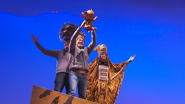 'GMA' Anchors Try Out 'Performing' in Broadway's 'Lion King'