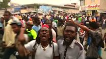 Fresh protests over Haiti poll result