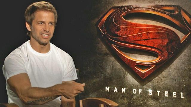 Snyder's vision brings 'Man of Steel' to life