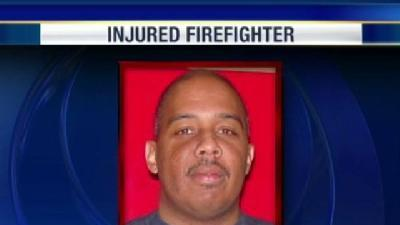 Injured Firefighter's Condition Upgraded