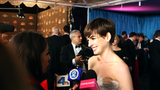 Video: Anne Hathaway Shares Her Surprise Over Golden Globes Win