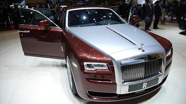 Rolls-Royce Refreshes Ghost Series