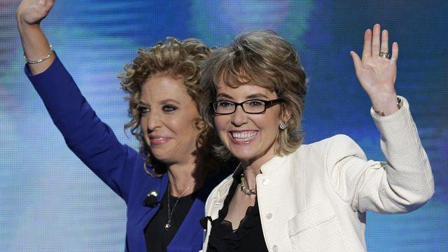 Gabrielle Giffords inspires at DNC