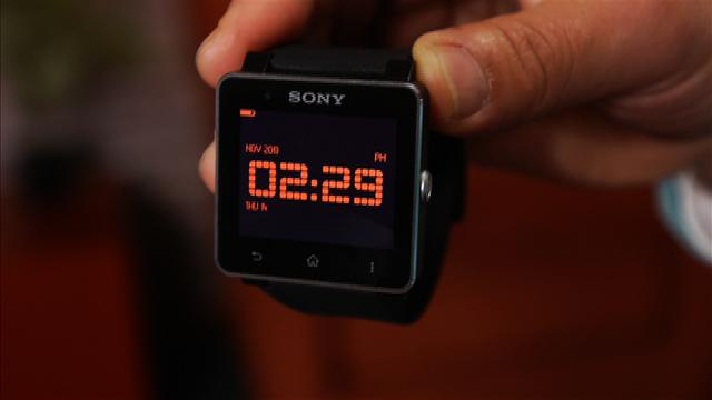 Sony's new and improved SmartWatch 2