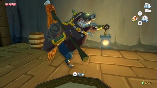 Barrel Sneaking - Zelda: The Wind Waker HD Gameplay