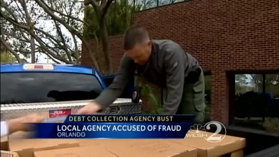 Police bust debt-collection scam operation