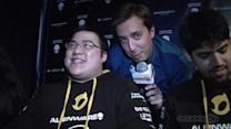 Scarra talks about Dignita's big match against Curse at PAX