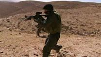 Never-before-seen video of Israel's quick response unit
