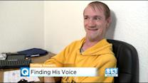 Man With Cerebral Palsy Hopes Campaign Will Help Him Find His Voice