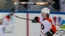 Akeson sticks with it and beats Lundqvist