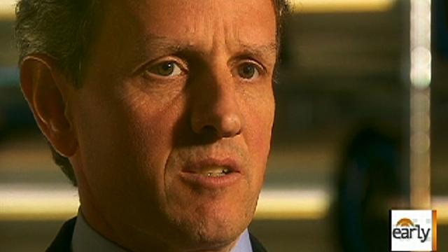 Tim Geithner: Treas. Sec. talks about the economy