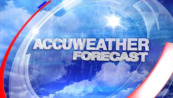 AccuWeather: Sunny and breezy Friday afternoon