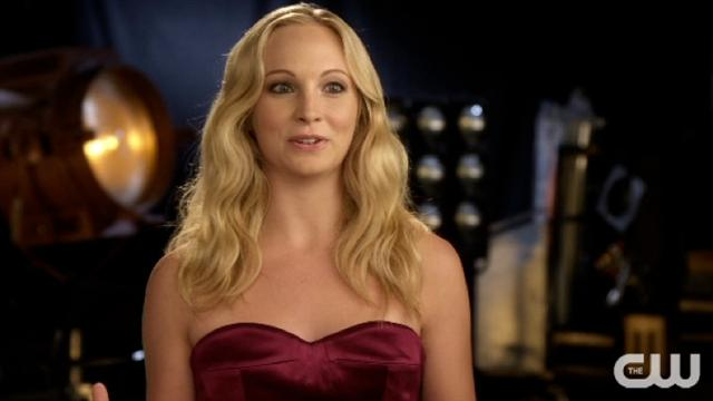 The Vampire Diaries - Candice Accola Interview