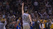 Bazemore, Ginobili Drains Game-Winner