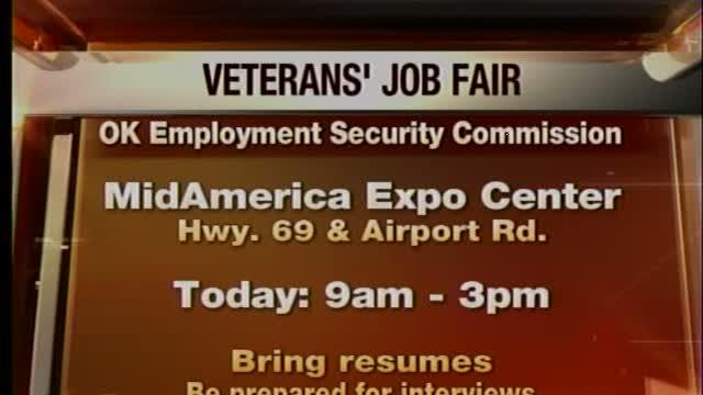 Job fair Tuesday for Oklahoma veterans