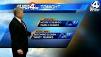 John's forecast for Wednesday, January 23, 2013