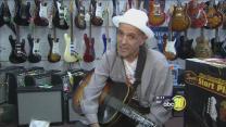 Valley blues legend reunites with treasured guitar