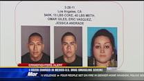 Dozens charged in Mexico-U.S. drug smuggling scheme