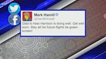 Social Media Sends Well-Wishes to Harrison Ford