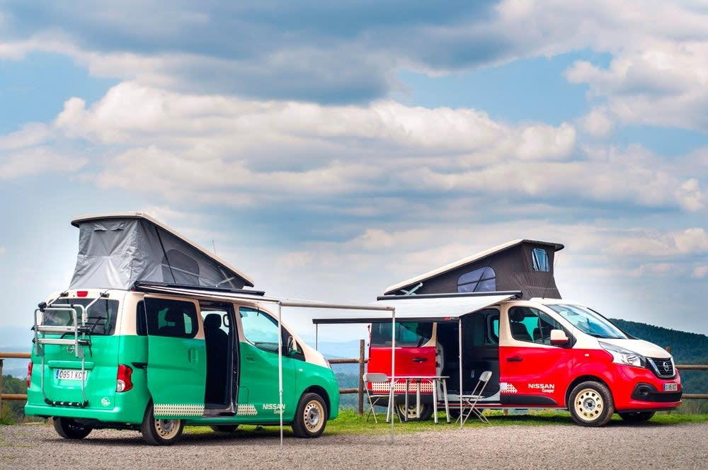 汽車廠商Nissan最近開發出電動露營車e-NV200 Camper,希望證明電動車也能上山下海