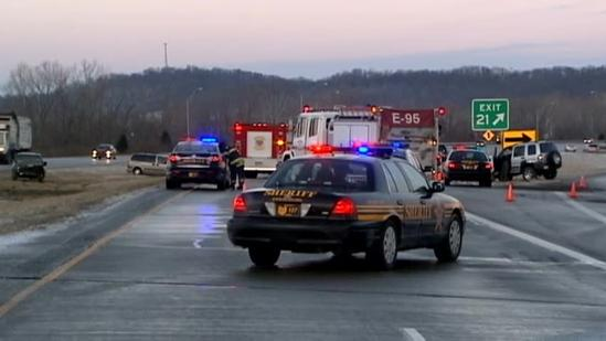 Tri-state roadways reopened after multiple morning accidents