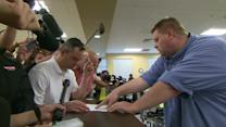 Clerk's office issues marriage license to gay couple