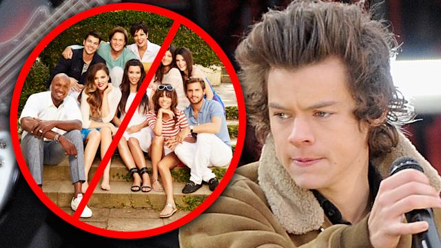 Harry Styles Refuses Keeping Up With The Kardashians!