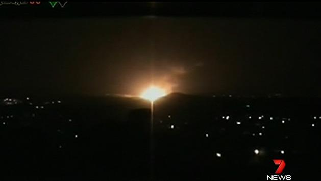 Israel launches air strikes in Syria