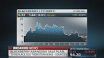 BlackBerry abandons sales plan, cans Heins: Report