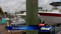 Police warn of boat burglaries in Boynton Beach