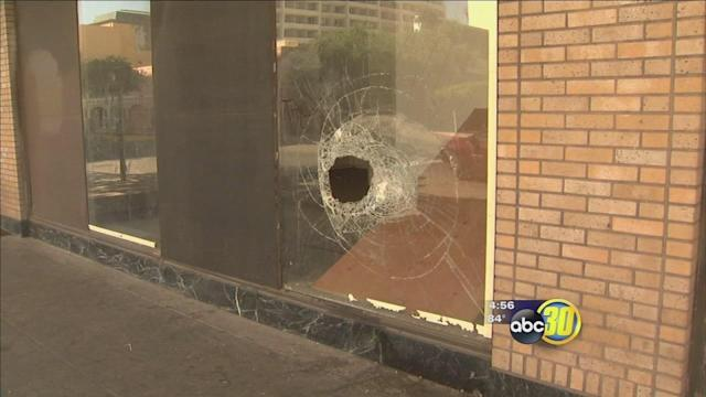 Window-smashing burglar targeting Fulton Mall businesses