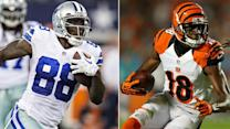 Picking between A.J. Green and Dez Bryant