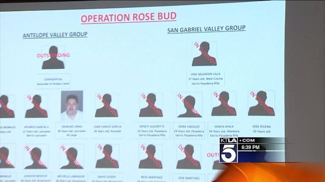 FBI: 24 Charged in Drug Trafficking Networks in Pasadena and Antelope Valley