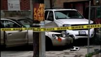 Livery cab driver stabbed in the eye