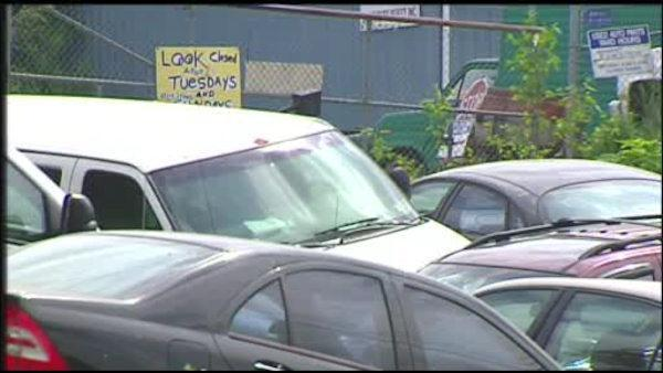 Thieves steal from Berks County auto parts lot