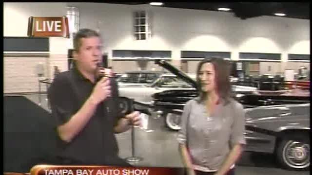 Classic Cars roll into the Auto Show