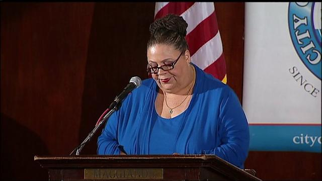 RAW: Karen Lewis speaks at the City Club of Chicago