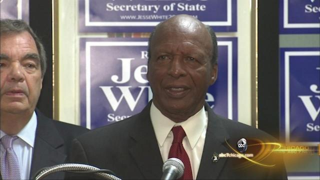 Jesse White running for 5th term as Illinois secretary of state