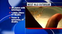 West Nile outbreak largest ever in U.S.