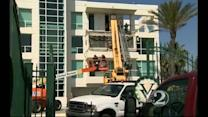 Residents told to stay off balconies after collapse