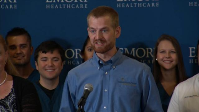 Ebola Survivor: 'Today Is a Miraculous Day'