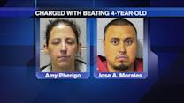 Mother, boyfriend charged with beating 4-year-old