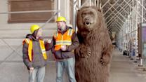 Robotic Bear Scares New Yorkers in Viral Ad
