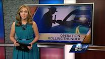 Operation Rolling Thunder catches drivers with drugs, stolen goods