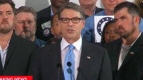 Perry is in: Bush is next