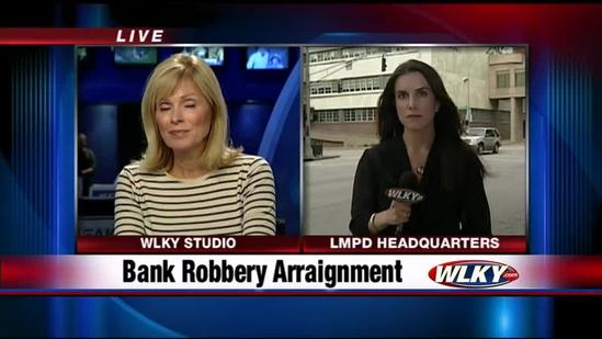 2 of 4 suspects in bank robbery go before judge