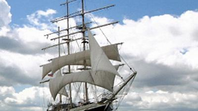 Unusual UK ship ready for Jubilee pageant
