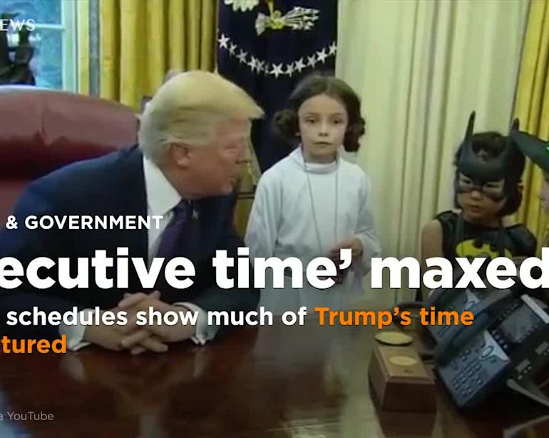 Trump Has Spent 60 Percent Of His Time Since Midterms In Executive Report